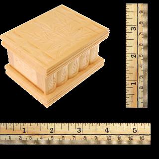 Romanian Puzzle Box - Small Natural