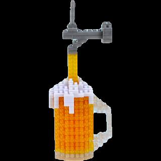 3D Pixel Puzzle - Microbrew