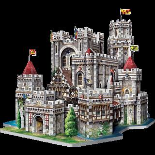 King Arthur's Camelot - Wrebbit 3D Jigsaw Puzzle