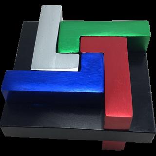 Quad L - Metal Puzzle