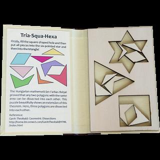 Puzzle Booklet - Tria-Squa-Hexa