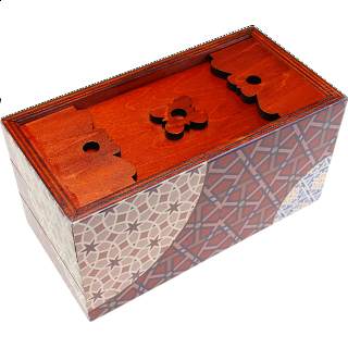 Puzzle Solution for Secret Opening Box - Winter Time