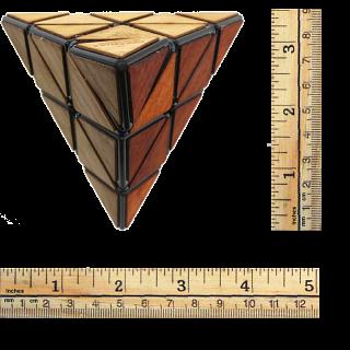 Meffert's Wooden Pyraminx
