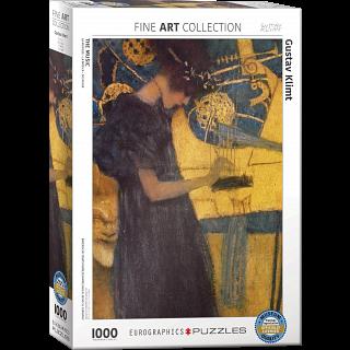 Gustav Klimt - The Music