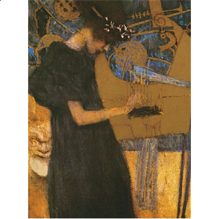 Gustav Klimt - The Music