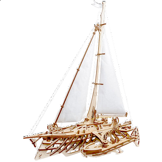 Mechanical Model - Trimaran Merihobus