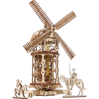 Mechanical Model - Tower Windmill