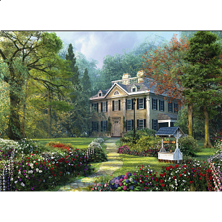 Longfellow House - Large Piece Family Puzzle