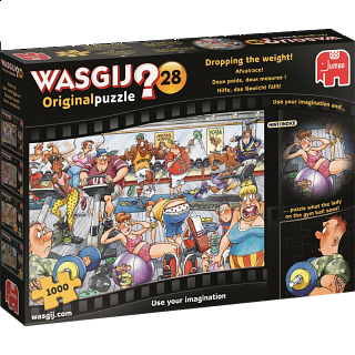 Wasgij Original #28: Dropping The Weight