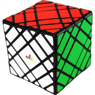 Elite Skewb Cube - Black Body