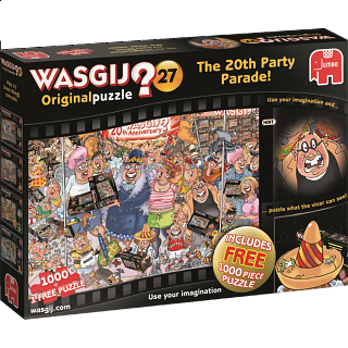 Wasgij Original #27: The 20th Party Parade - 2 x 1000 pc puzzles