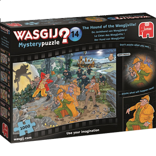 Wasgij Mystery #14: The Hound of the Wasgijville!