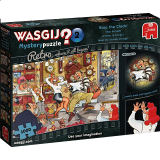Wasgij Mystery Retro #2: Stop The Clock!