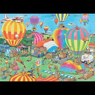 Jan van Haasteren Comic Puzzle - The Balloon Festival