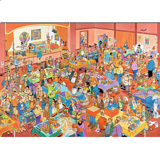 Jan van Haasteren Comic Puzzle - The Magic Fair
