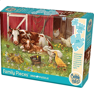 Barnyard Babies - Family Pieces Puzzle