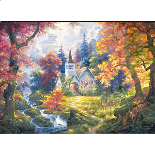 Chapel of Hope - Large Piece