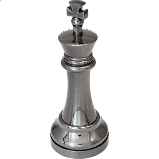 """Black"" Color Chess Piece - King"