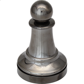 """Black"" Color Chess Piece - Pawn"