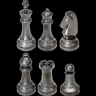 """""""Black"""" Color Chess Puzzle Set"""
