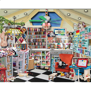 Craft Room Seek & Find