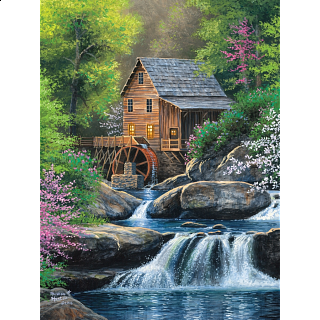 Spring Mill - Large Piece