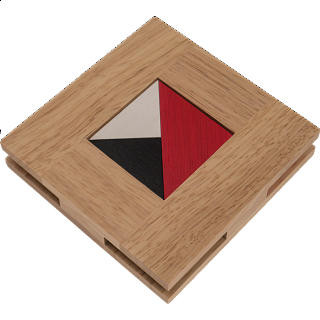 Puzzle Solution for House of Tangram