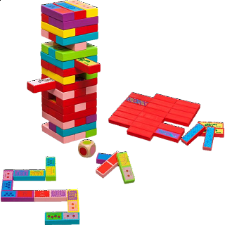 Tumbling Tower 3 in 1 Game