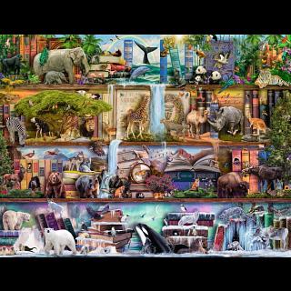 Wild Kingdom Shelves