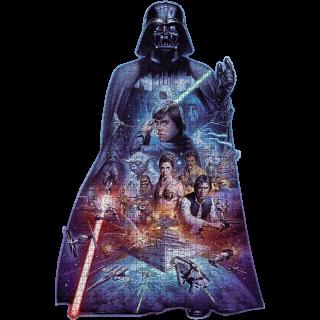 Darth Vader - Shaped Jigsaw Puzzle