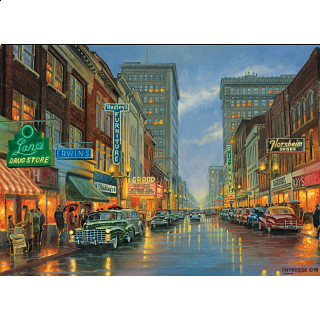 A Grand Night in Steubenville - Large Piece