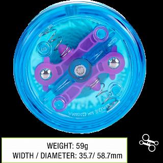 Brain (Blue) - Auto Return Yo-Yo