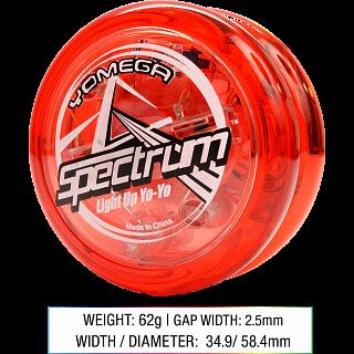 Spectrum (Red) - Transaxle Yo-Yo