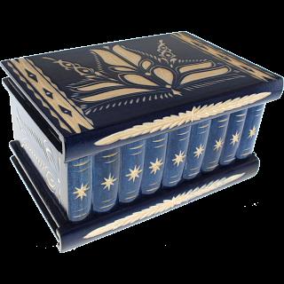 Romanian Puzzle Box - Extra Large Blue
