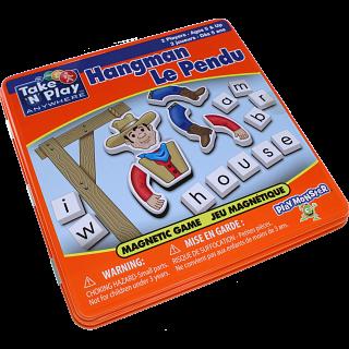 Take 'N' Play Anywhere Hangman Magnetic Game Tin