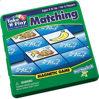 Take 'N' Play Anywhere Matching Magnetic Game Tin