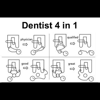 Dentist 4 in 1