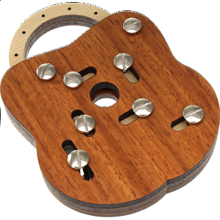 Puzzle Solution for JP Lock Holz