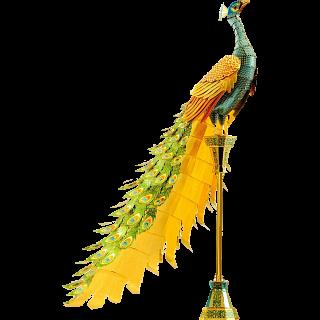 Metal Earth: Iconx 3D Metal Model Kit - Peacock