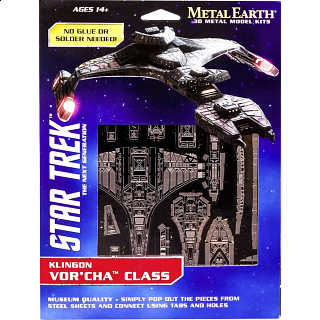 Metal Earth: Star Trek - Klingon Vor'cha Class
