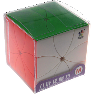 8 Petals Magnetic Cube - Stickerless