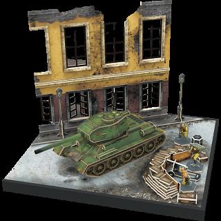 Armibuild Soviet T-34/85 Tank - 3D Push-Fit Model