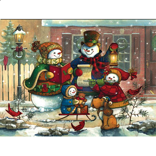 Song For The Season - Family Pieces Puzzle