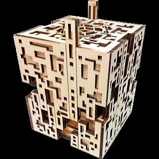 Silver City Kit - Wooden DIY Puzzle Box