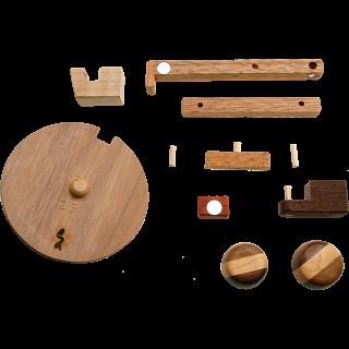 Cigar Puzzle Box Kit - Don Tomas: Gray