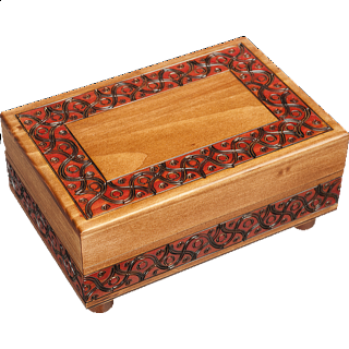Waved Motif (Large) - Secret Box