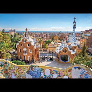 Barcelona View from Park Güell