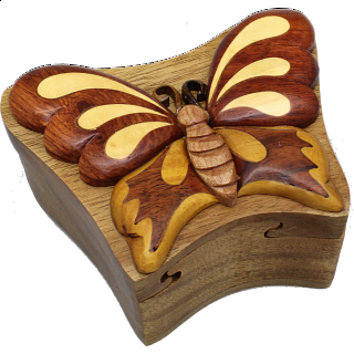 Butterfly - 3D Puzzle Box