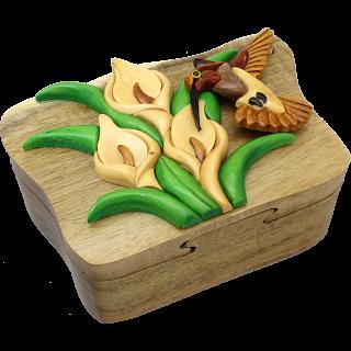 Hummingbird - 3D Puzzle Box