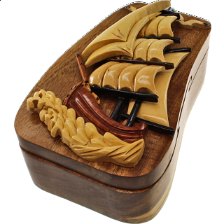 Tall Ship - 3D Puzzle Box